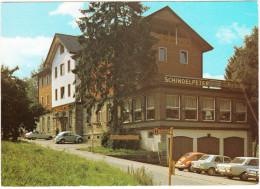 Bühlertal: FORD TAUNUS P5, 2x VW 1200, FIAT 128  - Appartement-Hotel 'Schindelpeter'-  (D) - Passenger Cars
