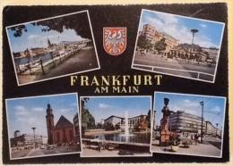 FRANKFURT AM MAIN VIAGGIATA 1962 - Non Classificati