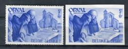 Belgique 1941. Yvert 567A-B ** MNH. - Belgique