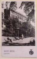 SAVOY HOTEL LONDON - Alberghi & Ristoranti