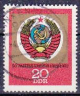 DDR 1972 / MiNr.  1813   O / Used  (L1549) - [6] République Démocratique