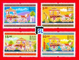 Sri Lanka Stamps, Vesak 2013, Buddhism, Buddha, Prince Siddhartha, Horse, MNH - Sri Lanka (Ceylon) (1948-...)
