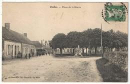 72 - CHALLES - Place De La Mairie - 1924 - Autres Communes