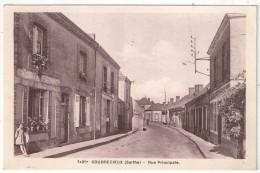 72 - COUDRECIEUX - Rue Principale - AD 7495 - Altri Comuni