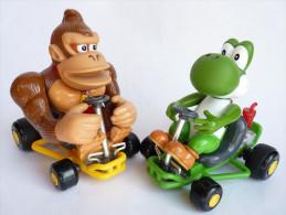 Figurines YOSHI & DONKEY KONG KART Télécommandé - NINTENDO 2004 - Video Games