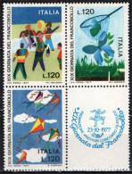 ITALIA - 1977 - 19^ GIORNATA DEL FRANCOBOLLO - NUOVI MNH - 1946-.. Republiek