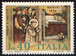 ITALIA - 1974 - NATALE - CHRISTMAS - NAVIDAD - NOEL - NUOVO MNH - 1971-80: Neufs