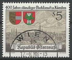 ÖSTERREICH 1988 MI-NR. 1930 O Used - ABO-Ware - (84) - 1981-90 Gebraucht