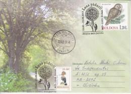 "MOLDOVA ; MOLDAVIE ; MOLDAU ; 2013 ; ""Month Of The Forest""; Birds ; Owl ; Special  Cancell. Used Cover. - Moldawien (Moldau)"