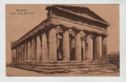 Agrigento -  Tempio Della Concordia - Ed.di Leo - Agrigento