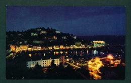 ENGLAND  -  Torquay By Night  Used Postcard As Scans - Torquay