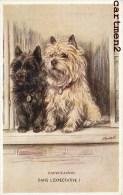 ILLUSTRATEUR MAC CHIEN DOG CHIENS VALENTINE'S TAILWAGGER - Chiens