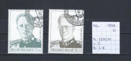 België 1998 - YT 2738/39 Gest./obl./used - Used Stamps