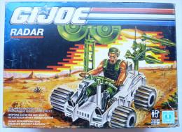 BOITE GI JOE Gijoe Vintage Hasbro 1990 VEHICULE RADAR Sans Figurine D´origine, Complet Avec Notice GIJOE - GIJoe