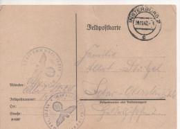 Nr. 2465, Feldpost  1942, Insterburg, Ostpreußen,  Heute Tscherjachowsk - Weltkrieg 1939-45