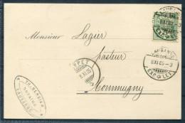 1905 Switzerland Notaire Postcarte Lausanne - Cartas