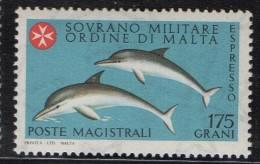 PIA - SMOM - 1980 :  Espresso - Delfini - (UN E4) - Malte (Ordre De)