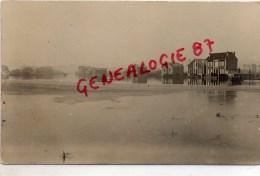 78 - CONFLANS SAINTE HONORINE - CARTE PHOTO DE G. COSSON 1924  INONDATIONS - Conflans Saint Honorine