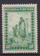 RUANDA-URUNDI 1931 SERIE CORRENTE YVERT 95 MLH VF