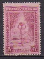 RUANDA-URUNDI 1937-38  SERIE CORRENTE YVERT 111 MLH VF