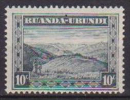 RUANDA-URUNDI 1931  SERIE CORRENTE YVERT 92 MLH VF