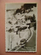 CPSM  SUISSE - N°7990 FUNICULAIRE DE MONTANA -VERMALA-CRANS - Funicular Railway