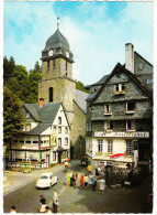 Monschau: VW 1200, RENAULT 4, FAHRRAD - Markt Mit Aukirche - (D) - Passenger Cars