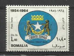 SOMALIA - 1964 Somali Credit Bank 1.80s MNH **        SG 411  Sc C94 - Somalia (1960-...)