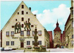 Greding : OPEL REKORD CARaVAN, VW 1500, FIAT 500  - Gasthof Zum Bayerischen - (D) - Voitures De Tourisme