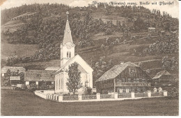RARE ! Wiedweg (Kärnten.) : Evangelische Kirche Mit Pfarrhof ! - Feldkirchen In Kärnten