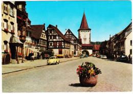 Gengenbach: VW 1200, OPEL REKORD P2 CARaVAN, NSU PRINZ, FORD 12M - Schwarzwald - (D) - Toerisme