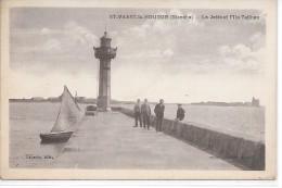 SAINT VAAST LA HOUGUE - La Jetée Et L'Ile Tatihou - Saint Vaast La Hougue
