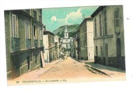 CPA PHILIPPEVILLE - Rue Gambetta - Skikda (Philippeville)