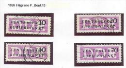 JJ--068. REF. MICHEL N° 6 X  A  9 X, Obl. , Cote 70.00 €, Voir Scan Pour Detail,  Liquidation - Service