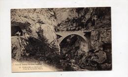 Carte Vercors Pont De La Goule Noire - France