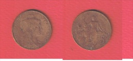 DUPUIS   //   5 Centimes  1909  //  état  TB - France