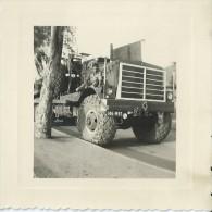 49Pr    Photo Guerre D´ Algerie Camion Militaire Tacot En Gros Plan - Materiale