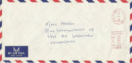 """Mauritius Maurice 1999 Port Louis Meter Franking Neopost """"Electronic"""" RC 006 Ireland Blyth Ltd Cover - Mauritius (1968-...)"""