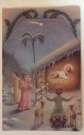 BUON NATALE VIAGGIATA ANNO 1950 - Weihnachten