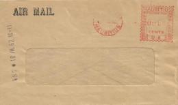 "Mauritius Maurice 1962 Port Louis Meter Franking Universal ""MultiValue"" U8 Mauritius Commercial Bank Cover - Mauritius (1968-...)"