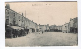 CHEF-BOUTONNE La Place Cail - Autres Communes
