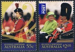 Australie - Anniversaire De La Reine Elisabeth II 3069/3070 ** - 2000-09 Elizabeth II