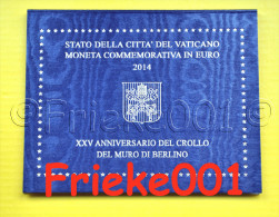 Vaticaan - Vatican - 2 Euro 2014 Comm In Blister. - Vatican