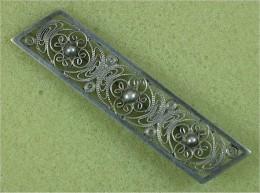 Filigranschmuck, Antike Brosche - Silber 835 - Brooches