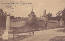 Environs De Herve - Château De Boland - Monument Des Combattants (animée) - Herve