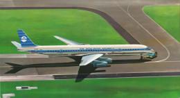 KLM K.L.M Royal Dutch Airlines Douglas Dc-8 Aircraft - 1946-....: Era Moderna