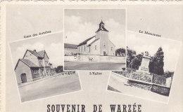 Souvenir De Warzée - Multivues (gare, église, Monument) - Ouffet