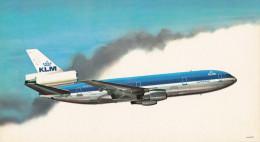 KLM K.L.M Royal Dutch Airlines Douglas Dc-10 Aircraft - 1946-....: Era Moderna
