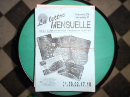 LA LETTRE MENSUELLE/LA BOUTIQUE INFOS-TARIFS  La Cote En Poche  (lot De 79 Numéros) - Télécartes