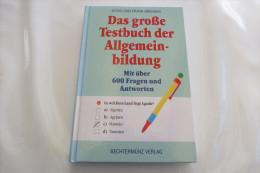 """Doris Und Frank Brenner """"Das Große Testbuch Der Allgemeinbildung"""" Mit über 600 Fragen Und Antworten - Boeken, Tijdschriften, Stripverhalen"""